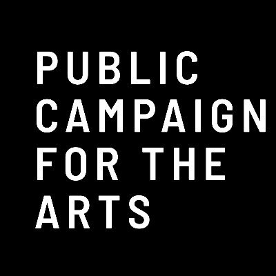 Public campaign for the arts logo