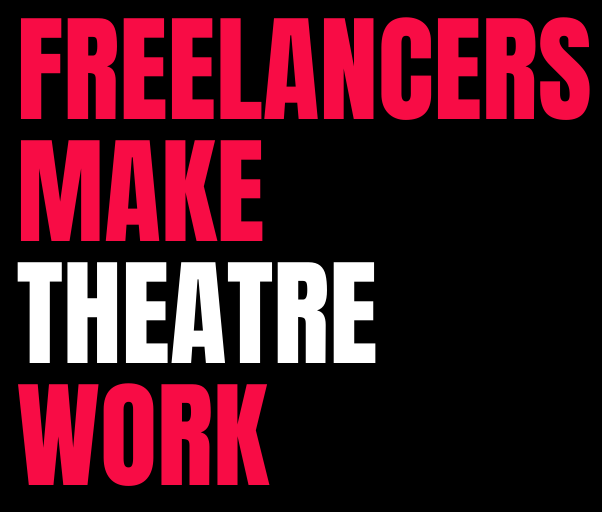 Freelancer make theatre work banner