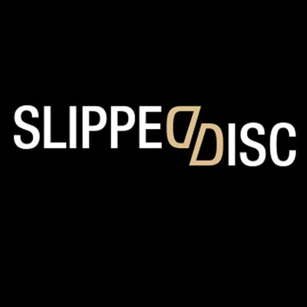 Slipped disc logo