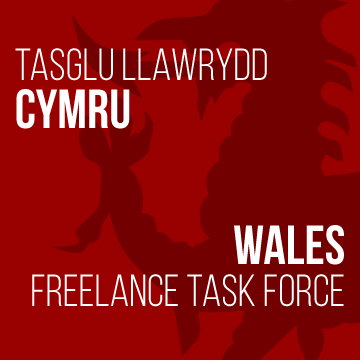 Wales Freelance Taskforce logo