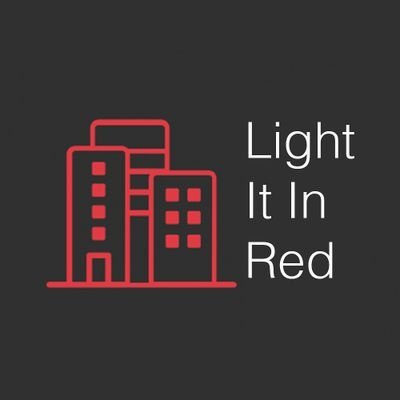 Light it in red logo