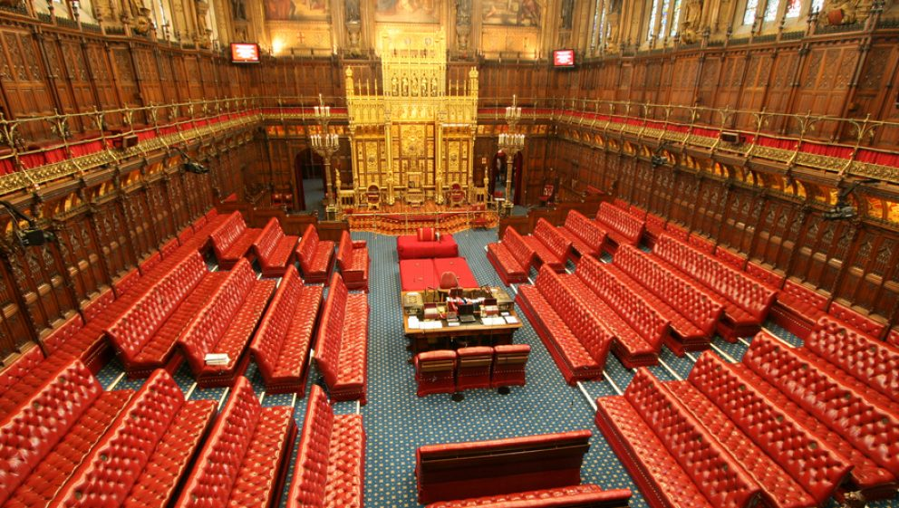 The House Of Lords interior