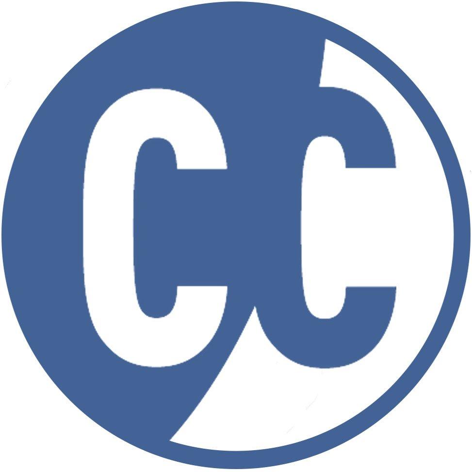 Curtain Call Logo Blue