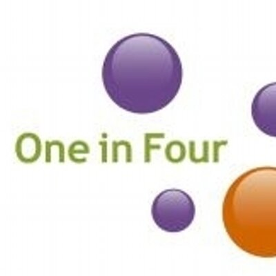 One in Four logo