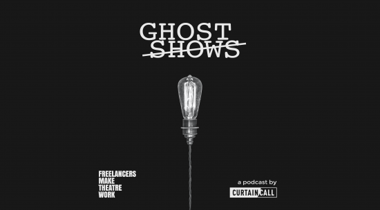 The Ghost shows logo